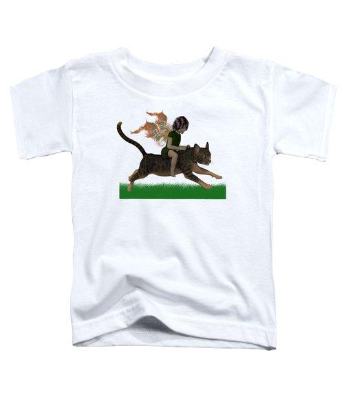 Having Fun Toddler T-Shirt by Nancy Pauling