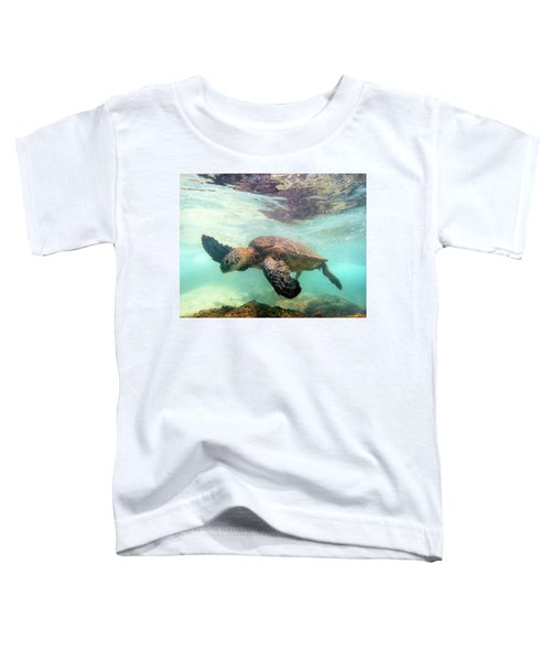 Hawaiian Green Sea Turtle Toddler T-Shirt
