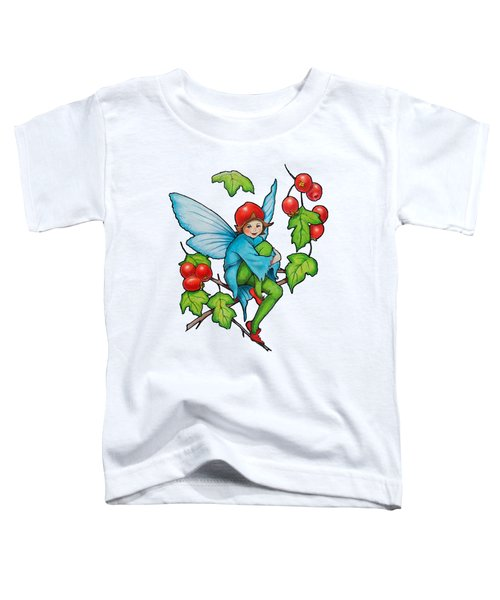 Hawthorn Fairy After Cicely Mary Barker Toddler T-Shirt