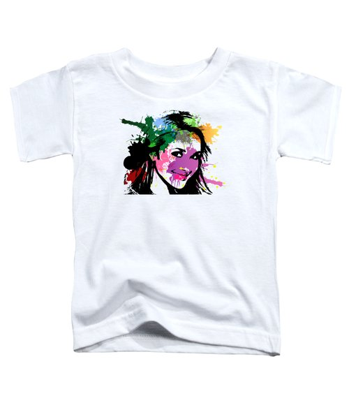 Hayden Panettiere Pop Art Toddler T-Shirt