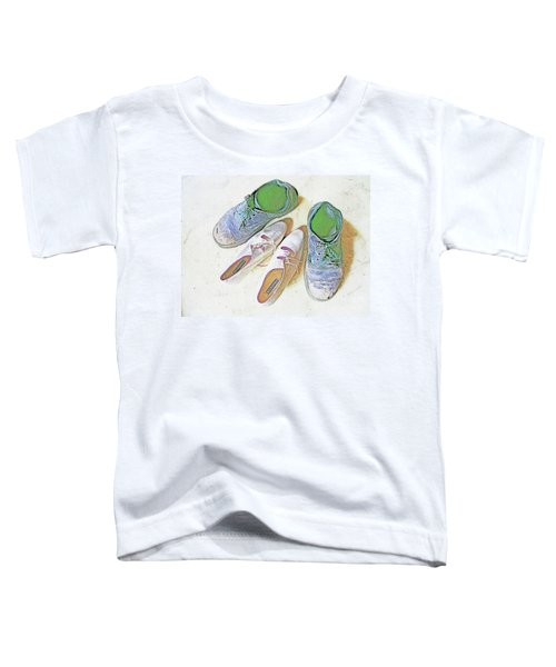 He And She Toddler T-Shirt