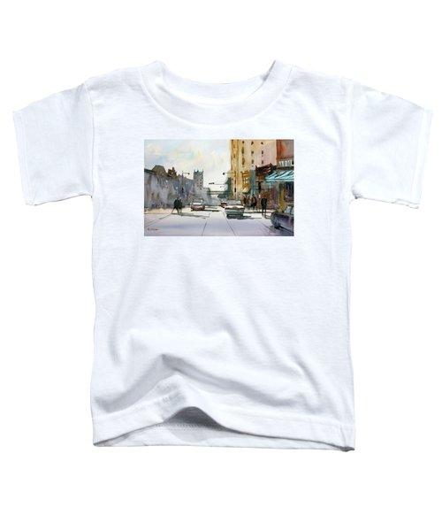 Heading West On College Avenue - Appleton Toddler T-Shirt