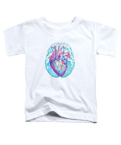 Heart Brain Toddler T-Shirt