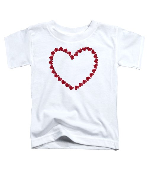 Heart From Red Hearts Toddler T-Shirt