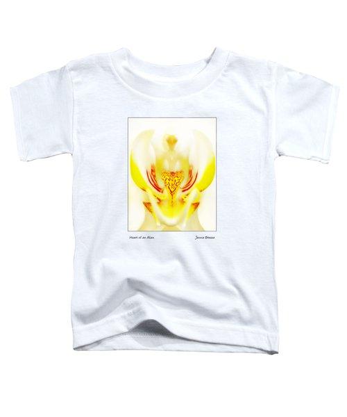 Heart Of An Alien Toddler T-Shirt