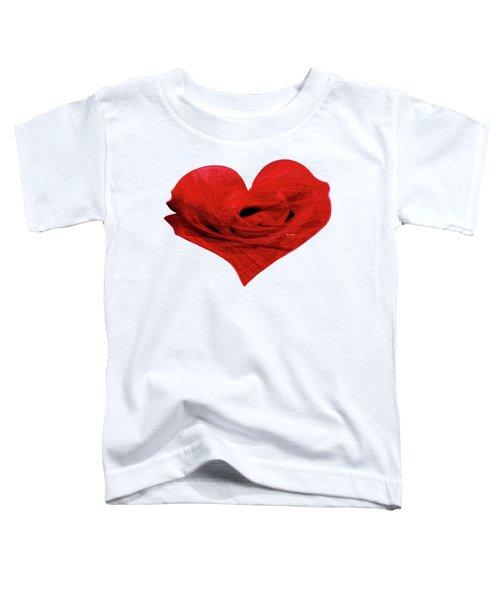 Heart Sketch Toddler T-Shirt