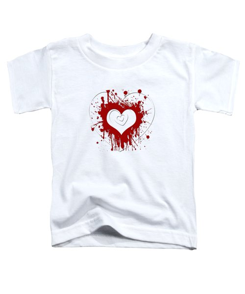 Hearts Graphic 1 Toddler T-Shirt