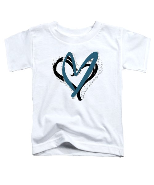 Hearts Graphic 8 Toddler T-Shirt