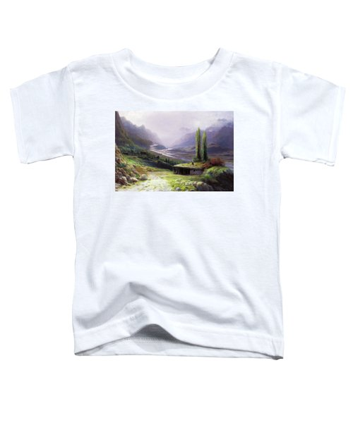 Heavenly Gorge Of Caucasus  Toddler T-Shirt
