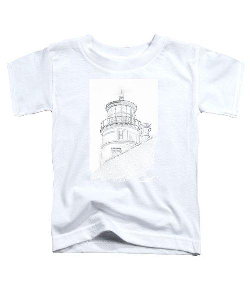 Hecitia Head Lighthouse Sketch Toddler T-Shirt