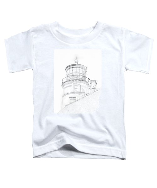 Hecitia Head Lighthouse Sketch Toddler T-Shirt