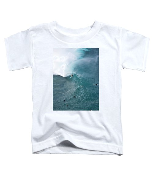 Tubed From Above. Toddler T-Shirt