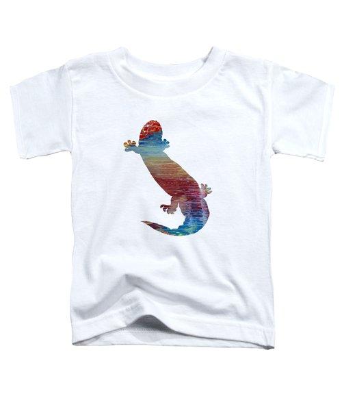 Hellbender Salamander Toddler T-Shirt by Mordax Furittus