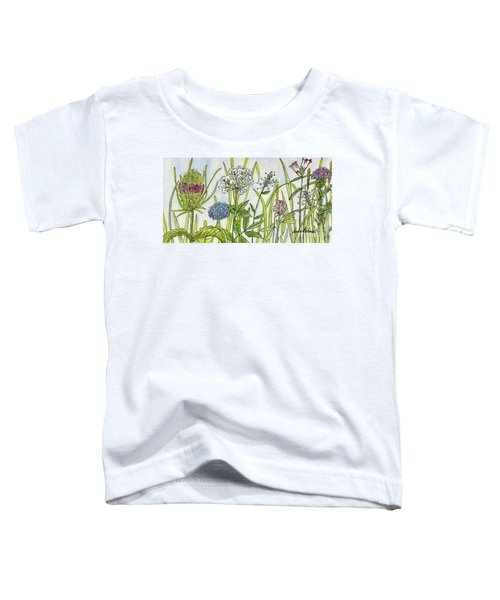 Herbs And Flowers Toddler T-Shirt