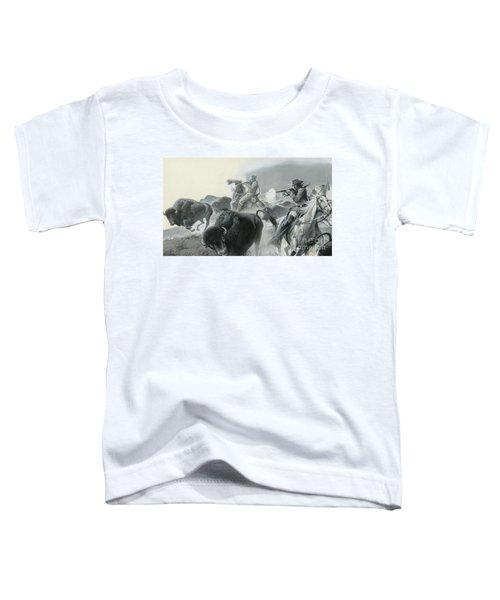 Herd Of Buffalo Toddler T-Shirt