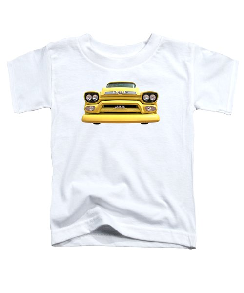 Here Comes The Sun - Gmc 100 Pickup 1958 Toddler T-Shirt