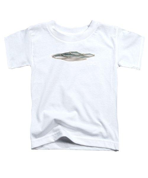 Herring School Of Fish - Clupea - Nautical Art - Seafood Art - Marine Art - Game Fish Toddler T-Shirt