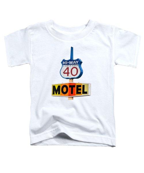Hi-way 40 Motel Toddler T-Shirt
