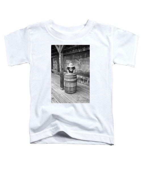 Hidden Face Toddler T-Shirt