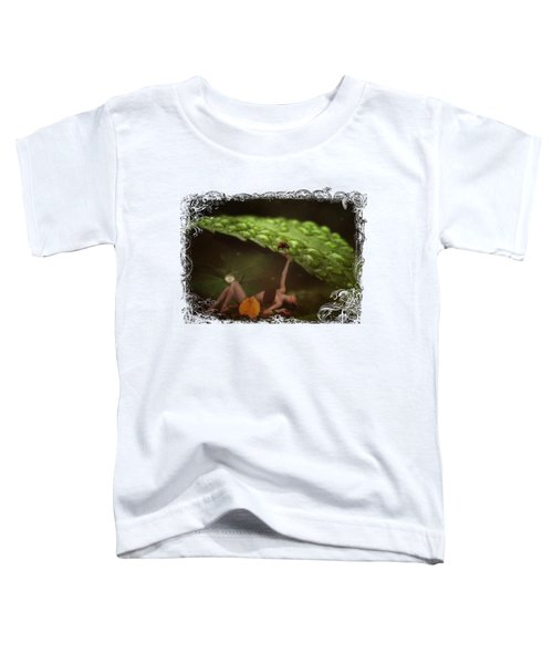 Hiding From The Storm Toddler T-Shirt by Terry Fleckney