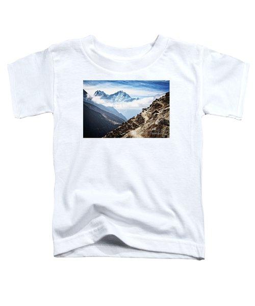 High In The Himalayas Toddler T-Shirt