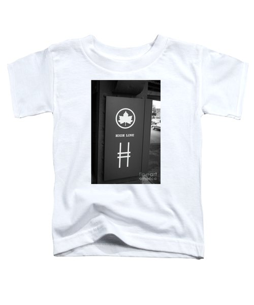 High Line Park Nyc Toddler T-Shirt