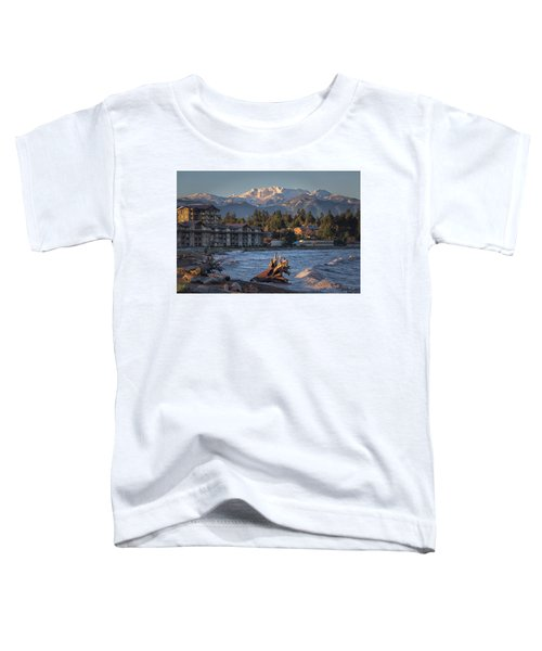 High Tide In The Bay Toddler T-Shirt