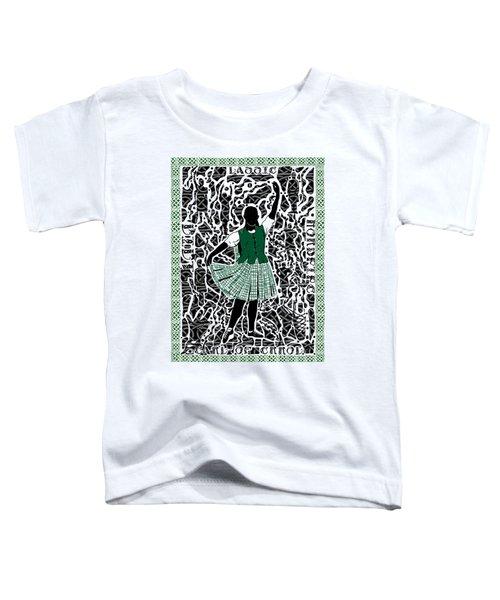 Highland Dancing Toddler T-Shirt