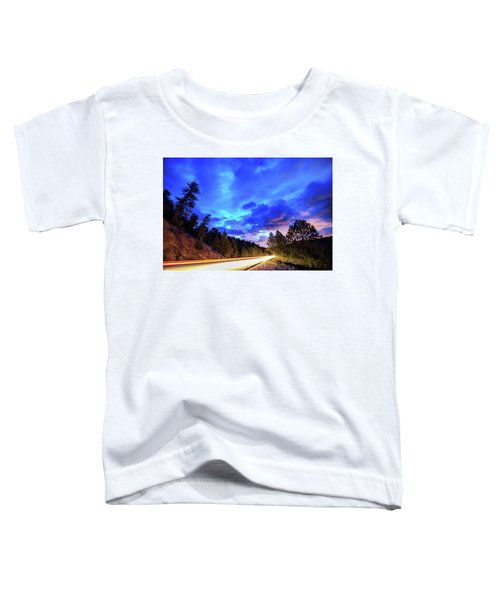 Toddler T-Shirt featuring the photograph Highway 7 To Heaven by James BO Insogna