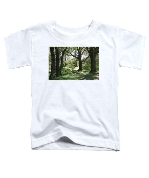 Hill 60 Cratered Landscape Toddler T-Shirt