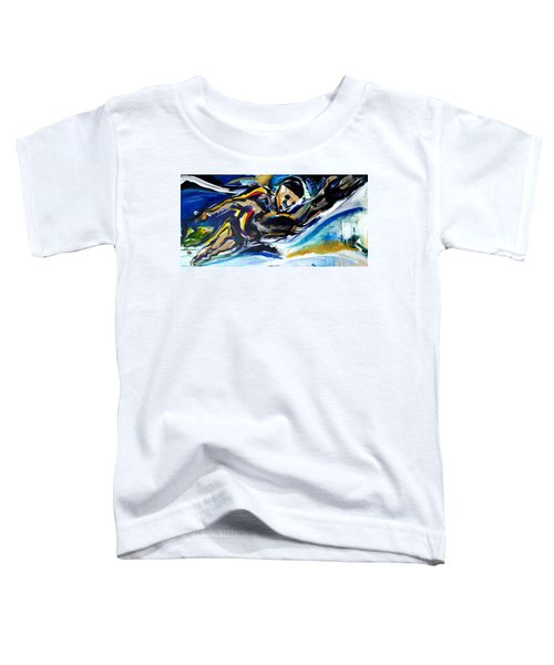 Him Swim Toddler T-Shirt