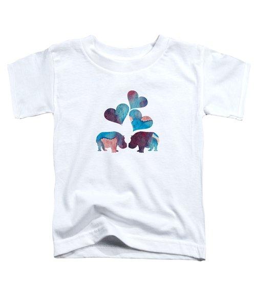 Hippopotamuses Toddler T-Shirt