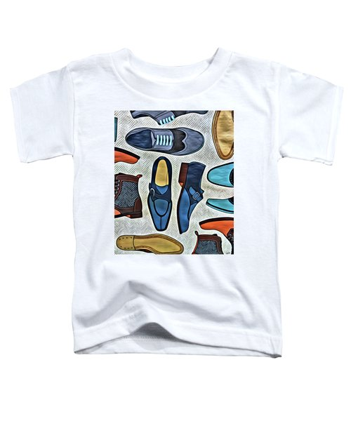 His Shoes Toddler T-Shirt