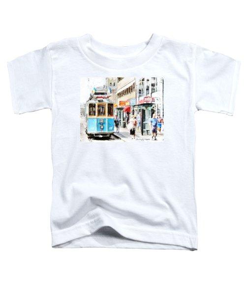 Historic Stockholm Tram Toddler T-Shirt