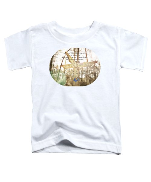 Hither Thither And Yon - Verse Toddler T-Shirt