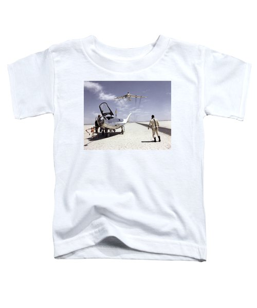 Hl-10 On Lakebed With B-52 Flyby Toddler T-Shirt