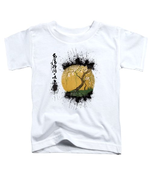 Hoitsu Tesshu Splatter  Toddler T-Shirt