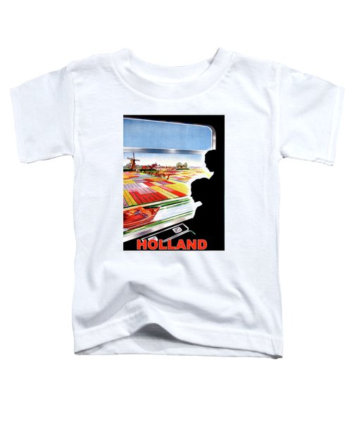 Holland, View From The Window, Train In Move Toddler T-Shirt