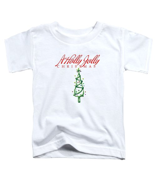Holly Jolly Christmas Toddler T-Shirt