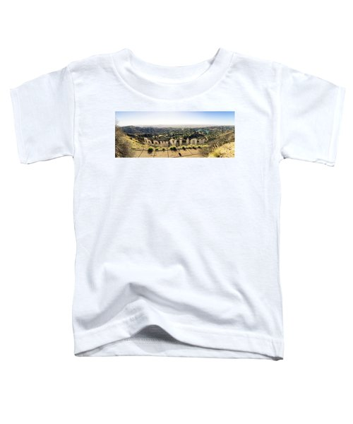 Hollywood Toddler T-Shirt by Michael Weber