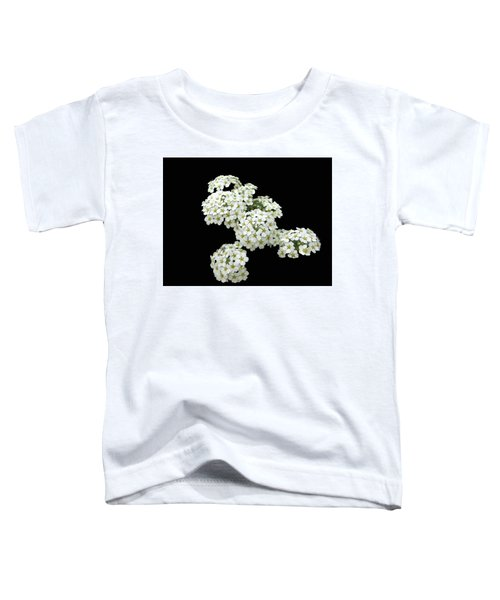 Home Grown White Flowers  Toddler T-Shirt