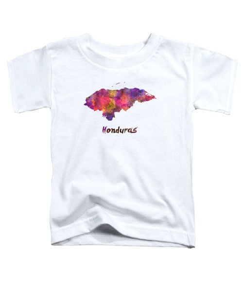 Honduras  In Watercolor Toddler T-Shirt