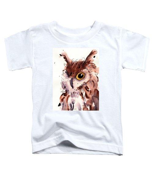 Horned Owl Toddler T-Shirt