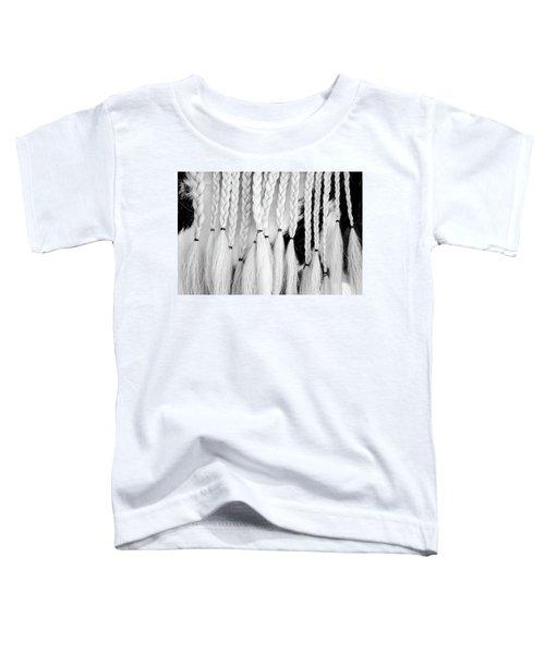 Horse Braids Toddler T-Shirt