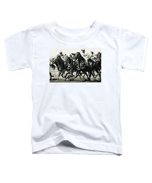 Horse Competition Vi - Horse Race Toddler T-Shirt