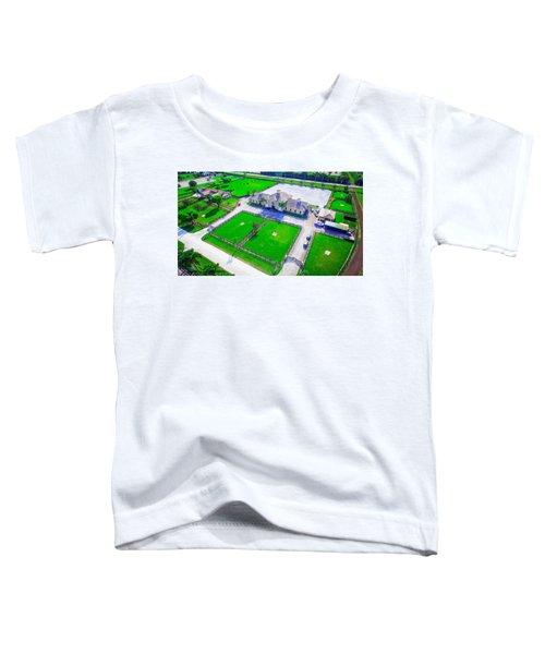 Horse Farm Aerial Toddler T-Shirt