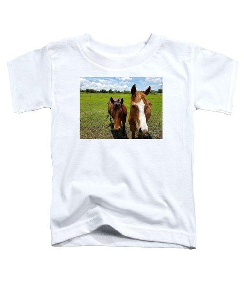 Horse Friendship Toddler T-Shirt