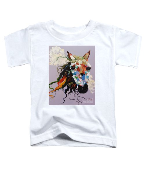 Puzzle Horse Head  Toddler T-Shirt