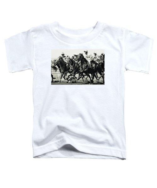 Horse Racing Toddler T-Shirt