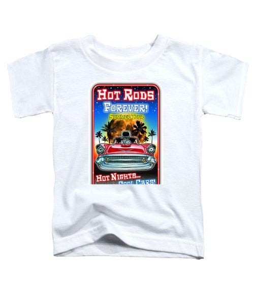 Hot Rods Forever Summer Tour Toddler T-Shirt